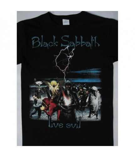 Black Sabbath Live Evil Tour T-shirt