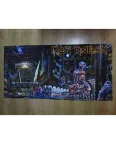 Iron Maiden – Somewhere In Time Beach Towel