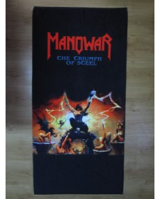 Manowar – The Triumph Of Steel Beach Towel