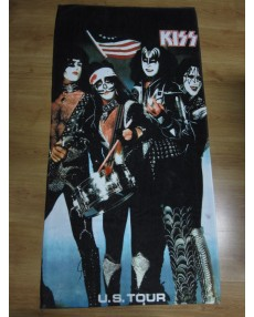 KISS – Bicentennial Spirit of 1976 U.S. Tour Beach Towel