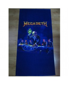 Megadeth -  Rust In Peace   BEACH, SPORT & HOME TOWELS MEGA RARE