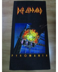 Def Leppard – Pyromania Beach Towel