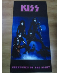 Kiss – Creatures Of The Night Band Beach Towel