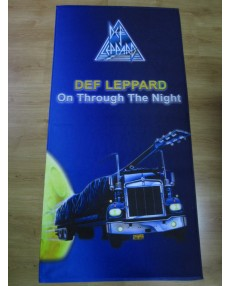 Def Leppard – On Through the Night Beach Towel