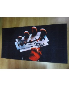 Judas Priest – British Steel Beach Towel
