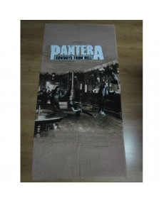 Pantera - Cowboys From Hell  Beach Towel
