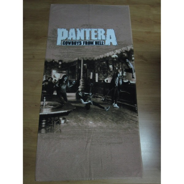 Pantera - Cowboys From Hell Beach Towel 47df80523df1
