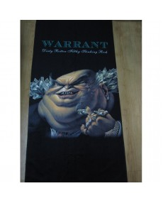 Warrant  - Dirty Rotten Filthy Stinking Rich  Beach Towel