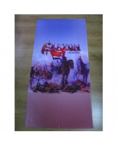 Saxon - Crusader   Beach Towel