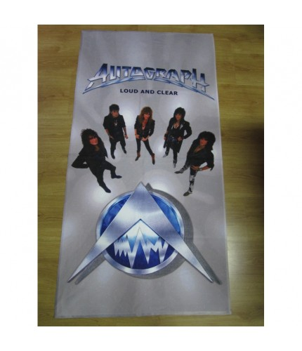 Autograph - Loud and Clear Beach Towel
