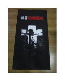 Wasp - The Crimson Idol   Beach Towel