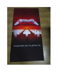 Metallica  – Master Of Puppets  Beach Towel