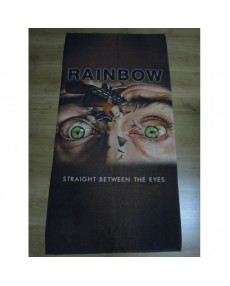 Rainbow  - Straight Between the Eyes  Beach Towel