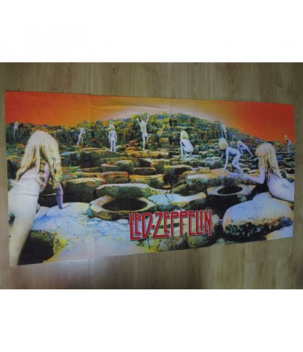 Led Zeppelin - Houses of the Holy  Beach Towel