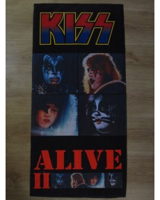 KISS – ALIVE II BEACH, SPORT & HOME TOWELS MEGA RARE