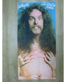 Ted Nugent Cat Scratch Fever Beach Towel