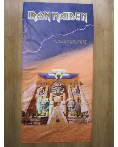 Iron Maiden – Powerslave Beach Towel