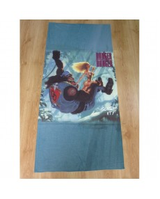 Danger Danger - Screw It!  Beach Towel