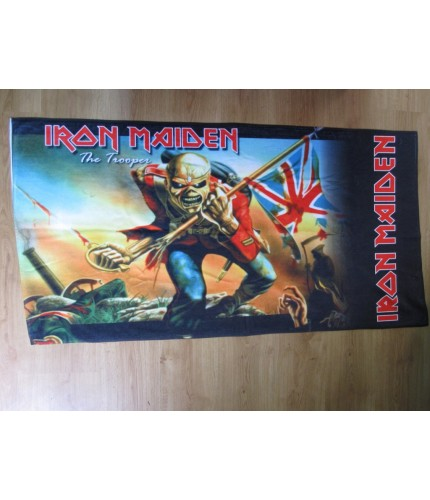 Iron Maiden – The Trooper Beach Towel