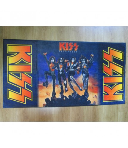 KISS – Destroyer Beach Towel
