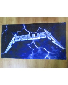 Metallica  – Ride the Lightning  Beach Towel