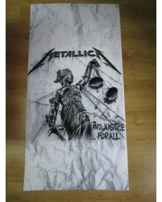 Metallica – And Justice For All Beach Towel