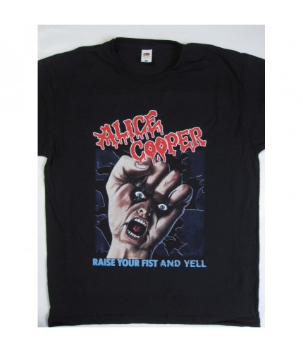 Alice Cooper - Raise Your Fist and Yell Tour T-shirt