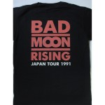 Bad Moon Rising - s/t  Japan Tour'91 T-shirt
