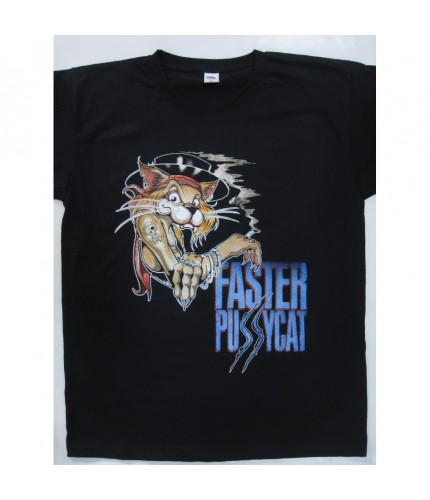 Faster Pussycat - The Itch You Can't Scratch Tour T-shirt