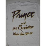 Prince – Purple Rain Tour 84-85 White  T-shirt