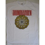 Soundgarden - Badmotorfinger White T-shirt
