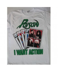 Poison - Look What the Cat Dragged In Tour '86 T-shirt