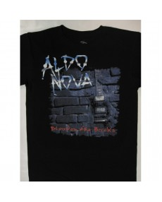 Aldo Nova – Blood on the Bricks Tour '91 T-shirt