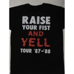 Alice Cooper -  Raise Your Fist and Yell Tour '87-'88  T-shirt