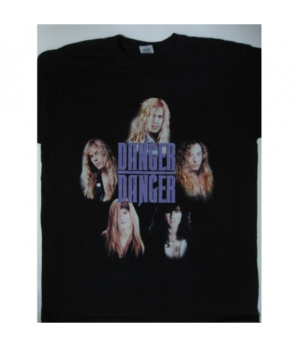 Danger Danger - Screwin  'In The U.K. 91/92 Tour  T-shirt