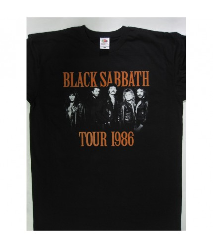 Black Sabbath - Seventh Star '86 Tour  T-shirt