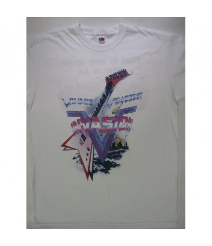 Vinnie Vincent - This Is Not Music.. Tour '87 T-shirt