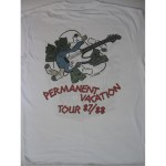 Aerosmith - Permanent Vacation Tour 87/88 White T-shirt
