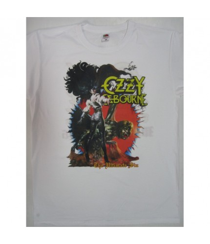 Ozzy Osbourne   - The Ultimate Sin Tour '86 WhiteT-shirt