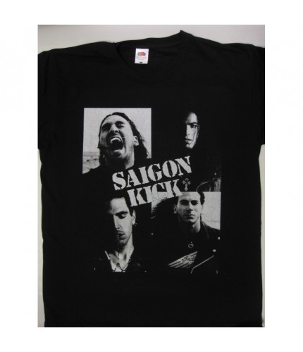 Saigon Kick - s/t  World Tour' 91 T-shirt