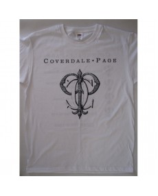 65b23ab17 Coverdale•Page - Japan Tour '93 White T-shirt