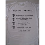 Coverdale•Page - Japan Tour '93 White T-shirt