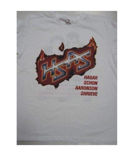 HSAS - Through the Fire'84  White T-shirt