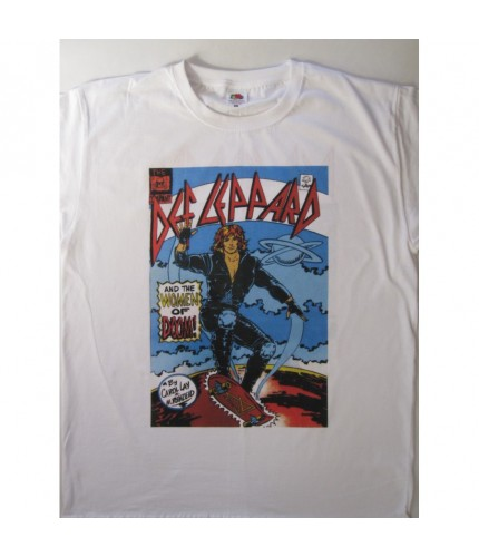 Def Leppard - Women Of Doom Hysteria T-shirt