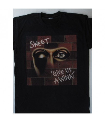 Sweet - Give Us a Wink T-shirt