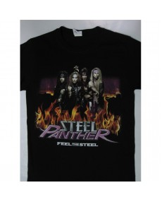 Steel Panther - Feel the Steel Tour T-shirt