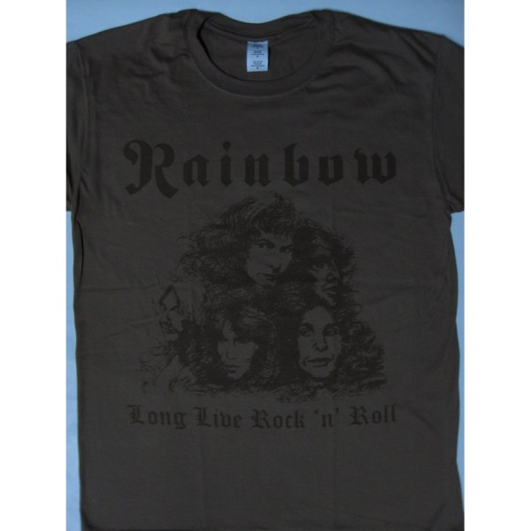 400ba3f45 Rainbow – Long Live Rock'n'Roll Brown Color T-shirt