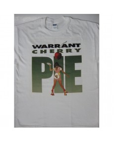 Warrant - Cherry Pie Tour 90-91 White T-shirt