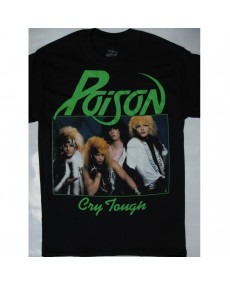 Poison – Look What the Cat Dragged In / Cry Tough T-shirt