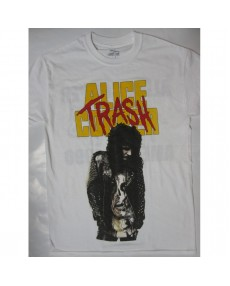Alice Cooper – Trash Tour '90  White T-shirt